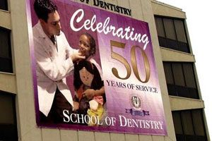 School of Dentistry Sign